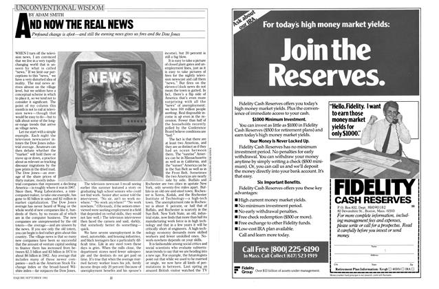 Article Preview: And Now the Real News, SEPTEMBER 1982 1982 | Esquire