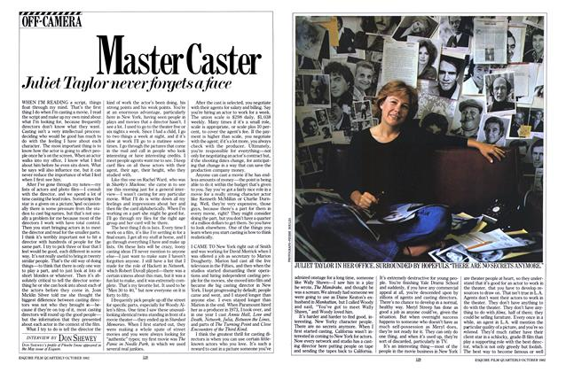 Article Preview: Master Caster, OCTOBER 1982 1982 | Esquire