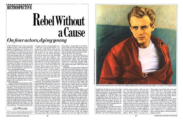 Article Preview: Rebel Without a Cause, October 1982 | Esquire