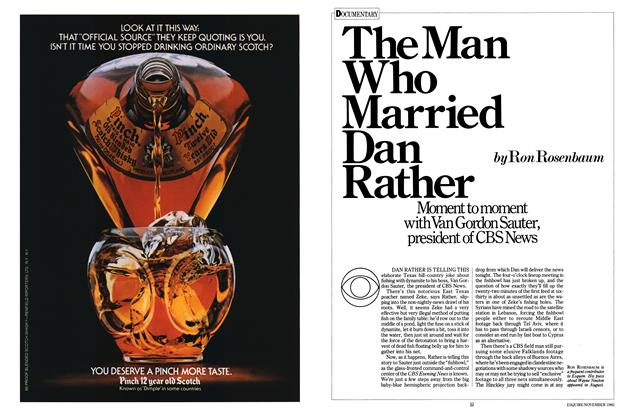The Man Who Married Dan Rather