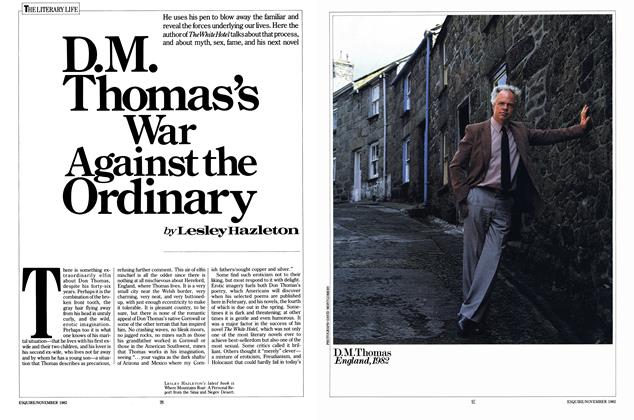 D. M. Thomas's War Against the Ordinary