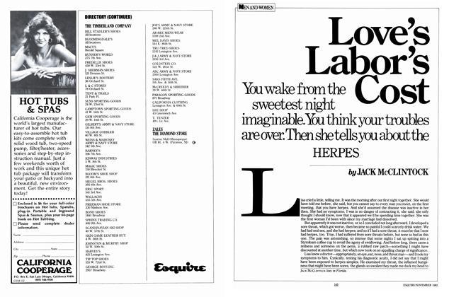 Love's Labor's Cost