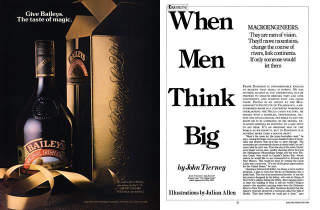 When Men Think Big