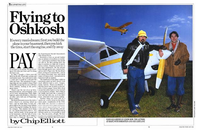 Flying to Oshkosh