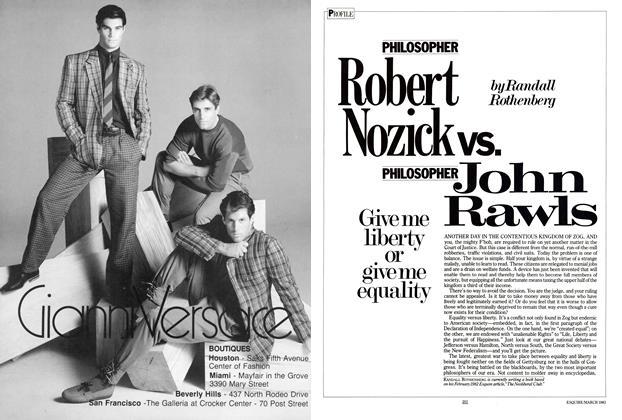 Philosopher Robert Nozick Vs. Philosopher John Rawls