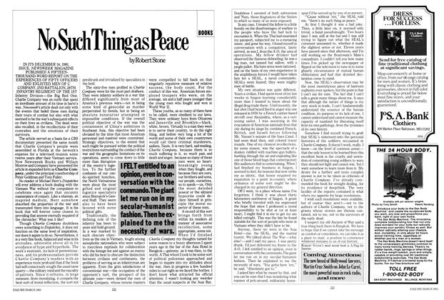 Article Preview: No Such Thing as Peace, MARCH 1983 1983 | Esquire