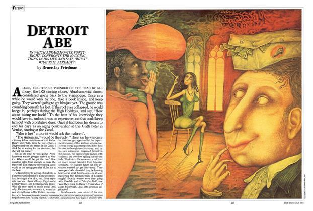 Article Preview: Detroit Abe, March 1983 | Esquire