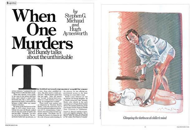 Article Preview: When One Murders, MARCH 1983 1983 | Esquire