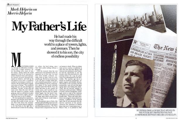 Article Preview: My Father's Life, MARCH 1983 1983 | Esquire