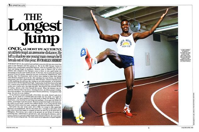 The Longest Jump