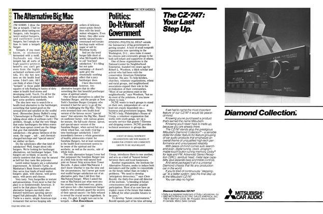 Article Preview: The Alternative Big Mac, April 1983 | Esquire