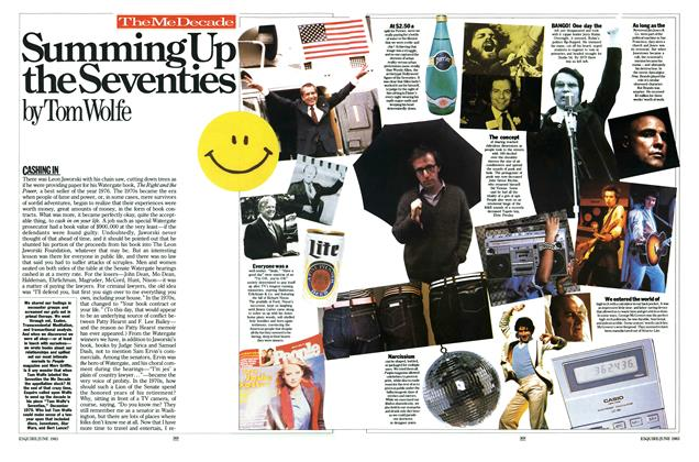 Article Preview: Summing Up the Seventies, June 1983 | Esquire