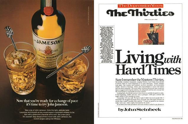 Article Preview: Living with Hard Times, JUNE 1983 1983 | Esquire