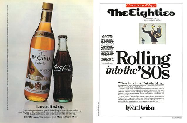 Article Preview: Rolling into the '80s, JUNE 1983 1983 | Esquire
