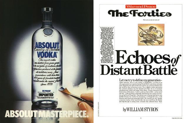 Article Preview: Echoes of Distant Battle, June 1983   Esquire