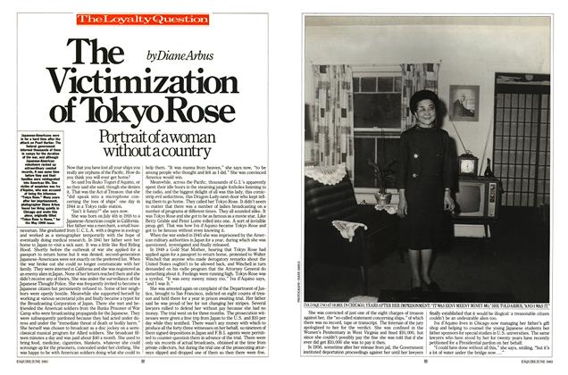Article Preview: The Victimization of Tokyo Rose, JUNE 1983 1983 | Esquire