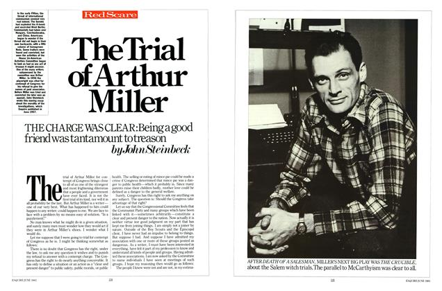 Article Preview: The Trial of Arthur Miller, JUNE 1983 1983 | Esquire