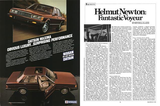 Article Preview: Helmut Newton: Fantastic Voyeur, JULY 1983 1983 | Esquire