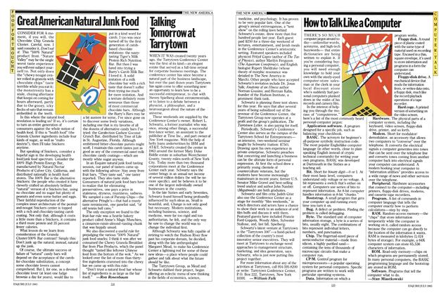 Article Preview: Great American Natural Junk Food, JULY 1983 1983   Esquire