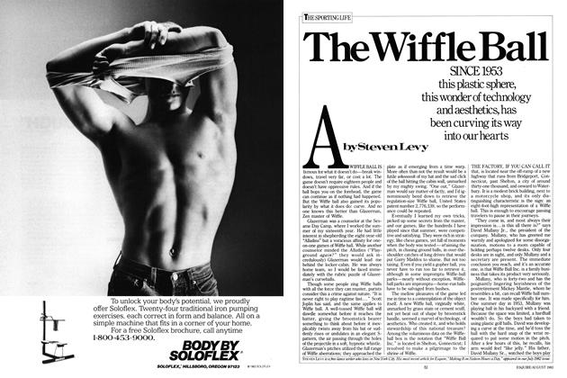 Article Preview: The Wiffle Ball, AUGUST 1983 1983 | Esquire