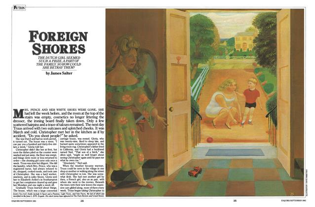 Article Preview: Foreign Shores, SEPTEMBER 1983 1983 | Esquire