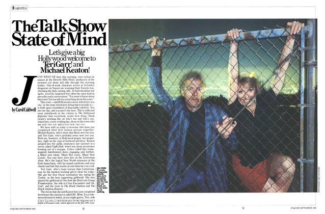 Article Preview: The Talk Show State of Mind, SEPTEMBER 1983 1983 | Esquire