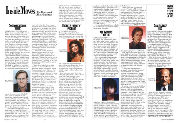 Article Preview: The Business of Show Business, OCTOBER 1983 1983   Esquire