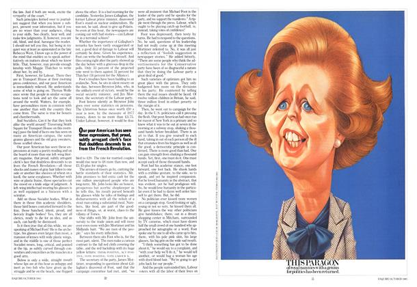 Article Preview: This Paragon of Royal Nannies with a Genius for Politics Has Been Returned., October 1983   Esquire