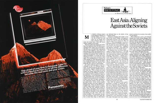 Article Preview: East Asia: Aligning Against the Soviets, NOVEMBER 1983 1983 | Esquire