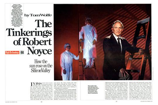 The Tinkerings of Robert Noyce, Page: 346 - DECEMBER 1983 | Esquire