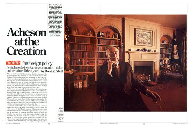 Article Preview: Acheson at the Creation, DECEMBER 1983 1983 | Esquire