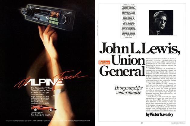 Article Preview: John L. Lewis, Union General, DECEMBER 1983 1983 | Esquire
