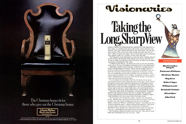 Article Preview: Taking the Long, Sharp View, DECEMBER 1983 1983 | Esquire