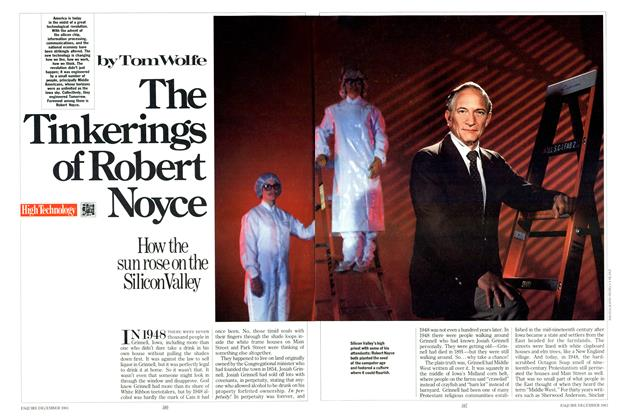 Article Preview: The Tinkerings of Robert Noyce, December 1983 | Esquire