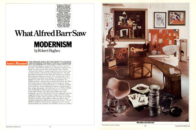 Article Preview: What Alfred Barr Saw, DECEMBER 1983 1983 | Esquire