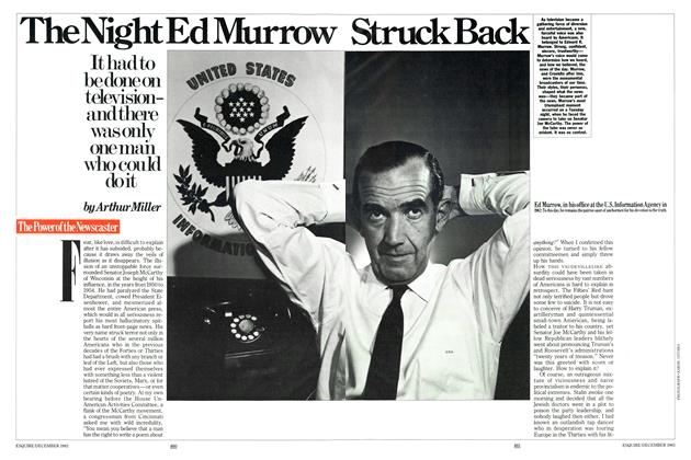 Article Preview: The Night Ed Murrow Struck Back, December 1983 | Esquire
