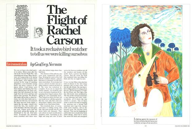 Article Preview: The Fight of Rachel Carson, December 1983 | Esquire