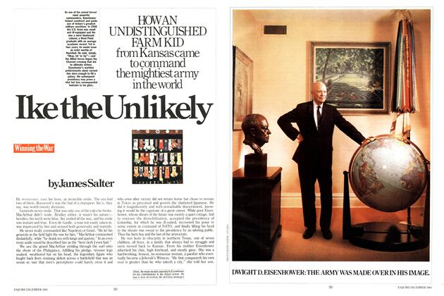 Article Preview: Ike the Unlikely, DECEMBER 1983 1983 | Esquire
