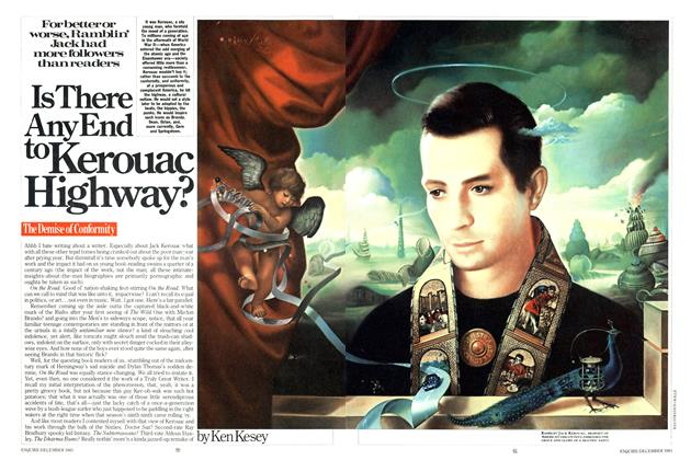 Article Preview: Is There Any End to Kerouac Highway?, DECEMBER 1983 1983 | Esquire