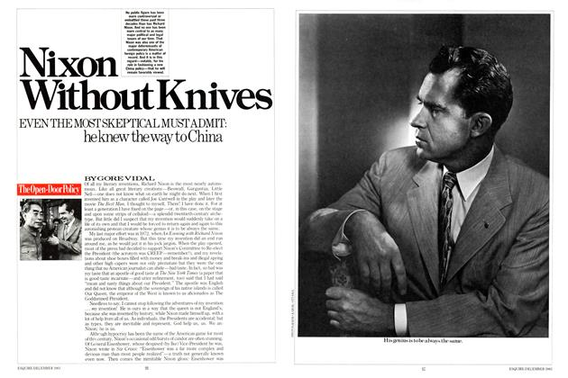 Article Preview: Nixon Without Knives, DECEMBER 1983 1983 | Esquire