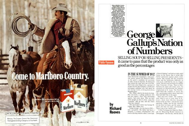 Article Preview: George Gallup's Nation of Numbers, DECEMBER 1983 1983 | Esquire