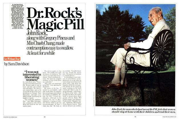 Article Preview: Dr. Rock's Magic Pill, December 1983 | Esquire