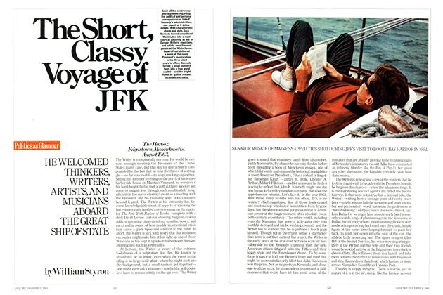 Article Preview: The Short, Classy Voyage of JFK, DECEMBER 1983 1983 | Esquire
