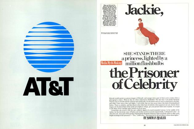 Article Preview: Jackie, the Prisoner of Celebrity, DECEMBER 1983 1983 | Esquire