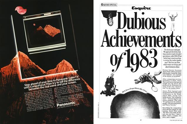 Article Preview: Dubious Achievements of 1983, JANUARY 1981 1984 | Esquire