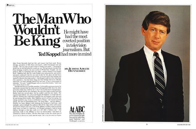 Article Preview: The Man Who Wouldn't Be King, January 1984 | Esquire