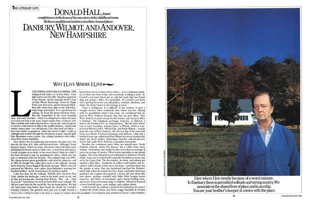 Article Preview: Why I Live Where I Live, JANUARY 1981 1984 | Esquire