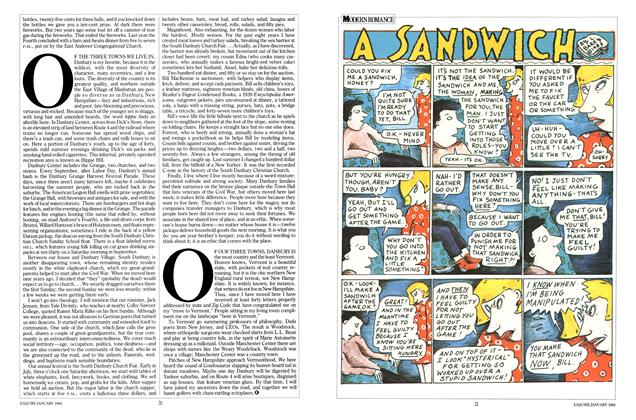 Article Preview: A SANDWICH, January 1984 | Esquire
