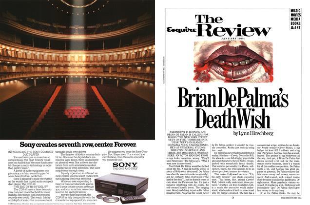 Article Preview: Brian De Palma's Death Wish, JANUARY 1981 1984   Esquire