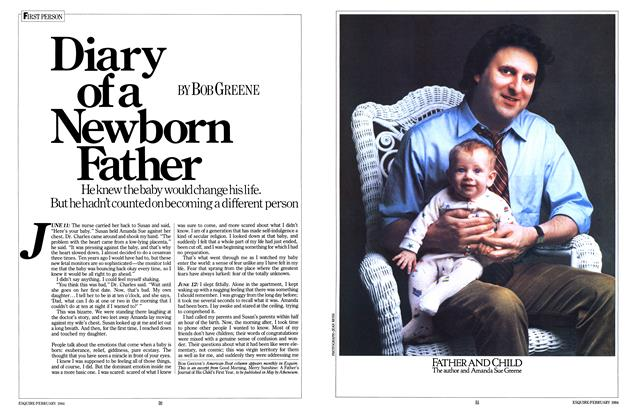 Diary of a Newborn Father